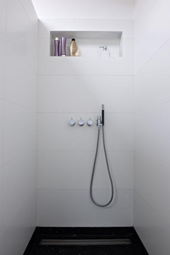 Dusche Nische Licht : Modern Bathroom Shower