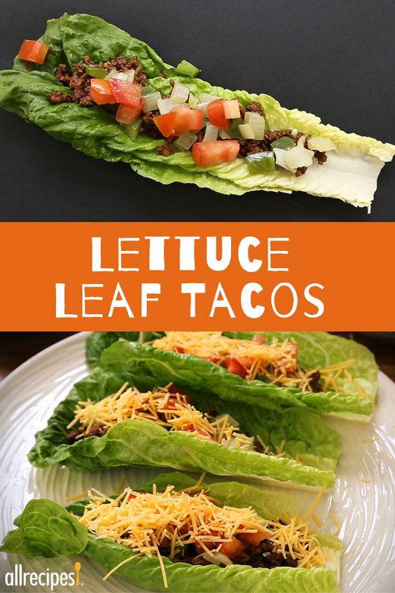 "Lettuce Leaf Tacos | ""This was soo good my kids (ages 6 and 10) asked me to make it next week! This is a first."" -Michellepv:"