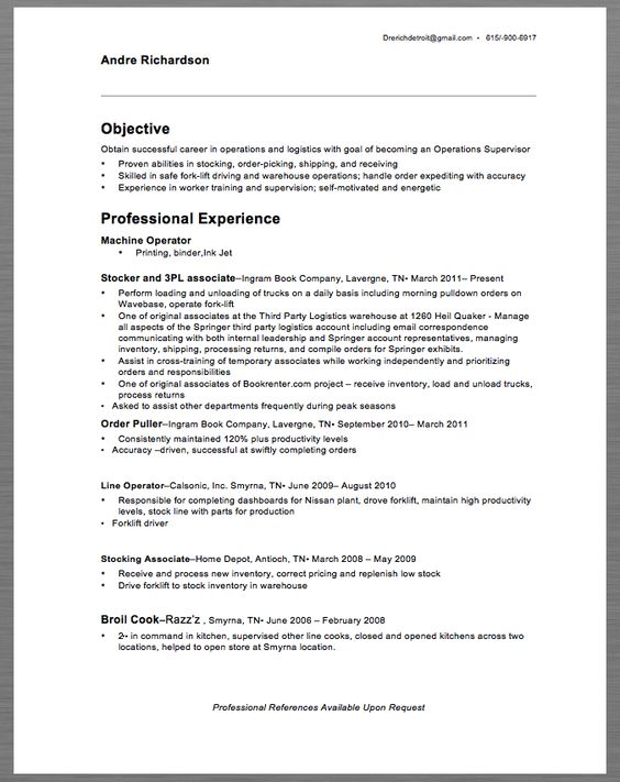 Information Security Analyst Resume Example - http\/\/resumesdesign - examples of warehouse resume