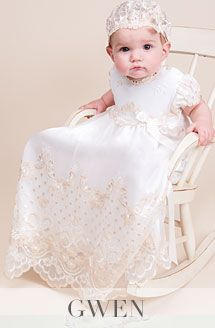 All Christening Gowns for Girls - Designer Baptism Gowns ...