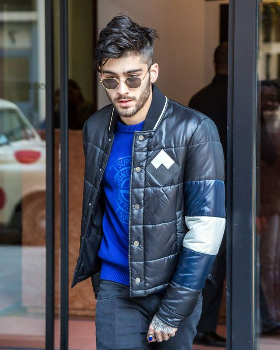 Zayn Malik's Un-Puffy Puffer Jacket Is Your New Outerwear Must-Have Photos | GQ