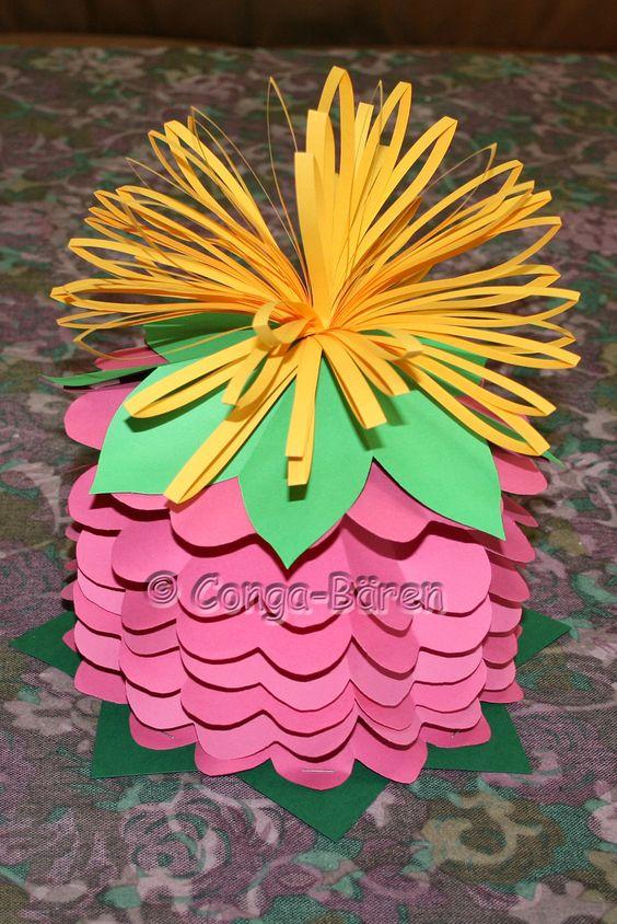 Papier-Blumen-Verpackung. Ein kleines Geschenk auf besondere Art verpacken. Klickt aufs Bild.