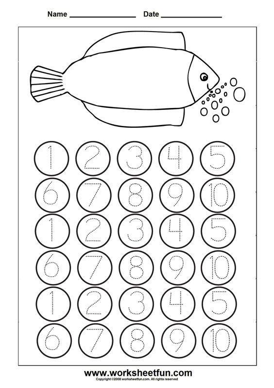 math worksheet : free printable math worksheets  math  pinterest  tracing  : Preschool Math Worksheets Free Printables