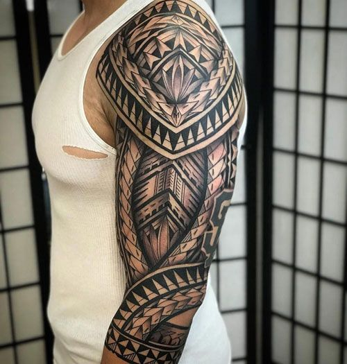 125 Best Sleeve Tattoos For Men Tribal Sleeve Tattoos Best Sleeve Tattoos Maori Tattoo Designs