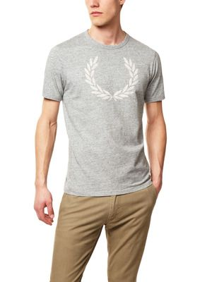 Fred Perry Marl Ringer T-Shirt