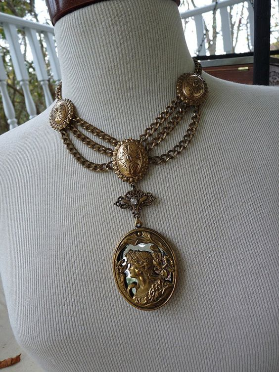 SALE  Antique French Etruscan Style by RusticGypsyCreations, $220.00