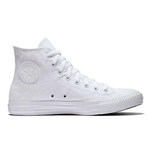 Weiße High Top Converse | White high top converse, Chuck