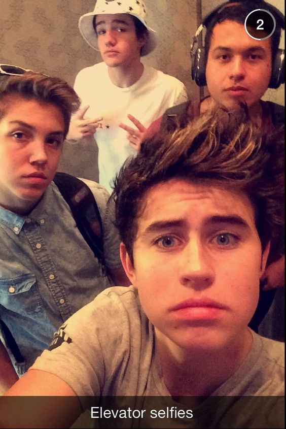 Nash Grier, Matt Espinosa, and Aaron Carpenter