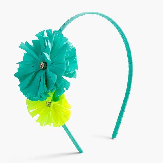 crewcuts Girls Double Flower Headband