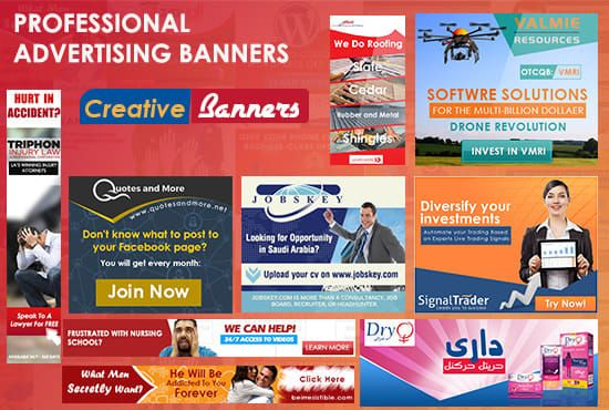 I Will Design Amazing Advertising Banners For Google Adwords