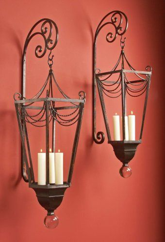 French Country Wall Sconces For Candles : candle+wall+sconces ... Traditional French Country Wall Dcor Candle Sconce Lanterns Candle ...