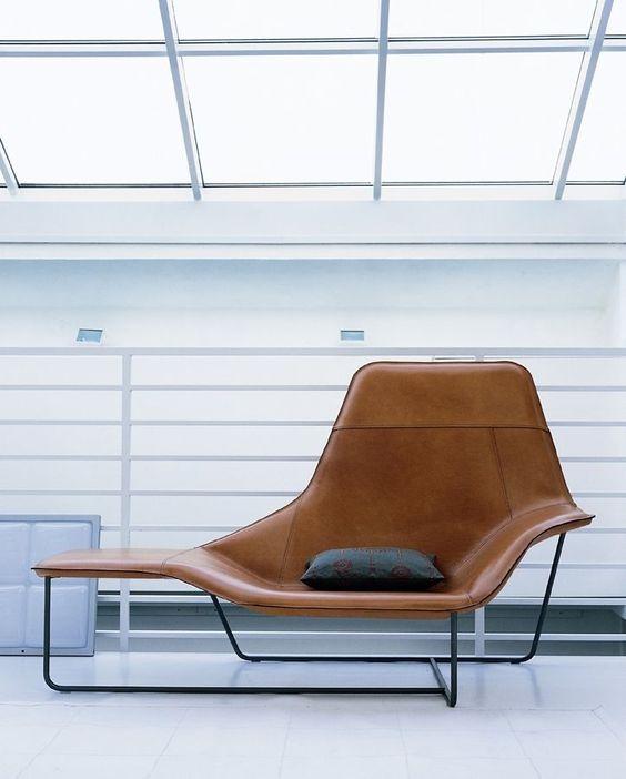 Zanotta Lama Lounge Chair By Ludovica & Roberto Palomba.