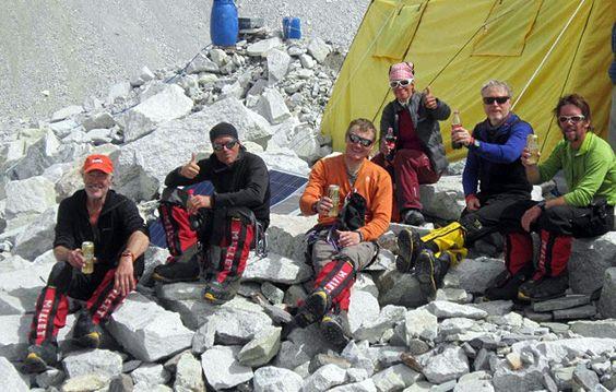 2012 Everest climbers