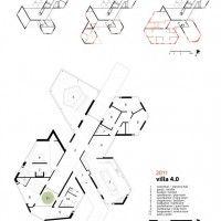 Dick van Gameren Architects - Villa 4.0 in Het Gooi, The Netherlands - floorplan