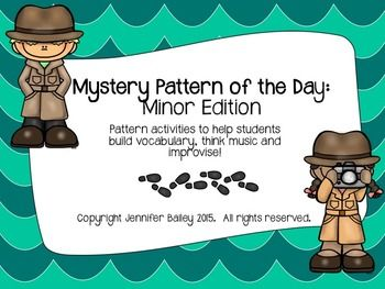 Mystery Pattern of the Day: Minor Edition