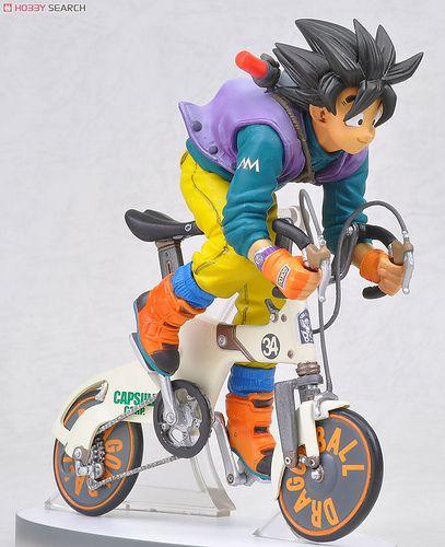 七龍珠Z 孫悟空 騎單車斐頁版本 再販 | 玩具人Toy People News