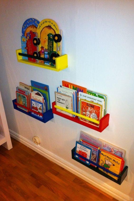 Barnrum barnrum bokhylla : Bokhylla av kryddhyllor | Barn | Pinterest