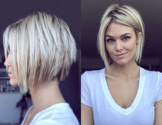 40 Best Short Hairstyles For Round Faces You Should Try Short Haircut Z Short Hair Styles Thick Hair Styles Hair Styles