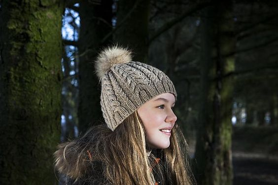 Ravelry: Cable Hat pattern by Dora Stephensen FREE pattern ~ knit in a Worsted 10ply