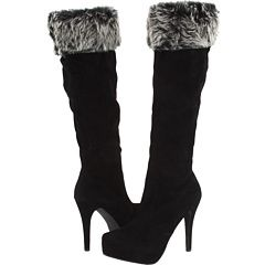 faux fur boot toppers at Eccentrics!