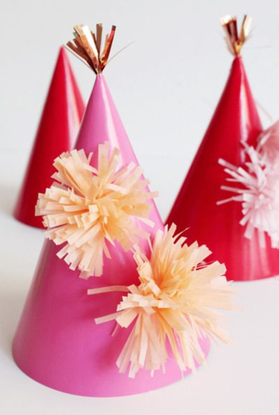 party hats! DIY Tutorial at Opening Ceremony http://www.openingceremony.us/entry.asp?pid=4934_source=facebook_medium=social_campaign=fb_123111