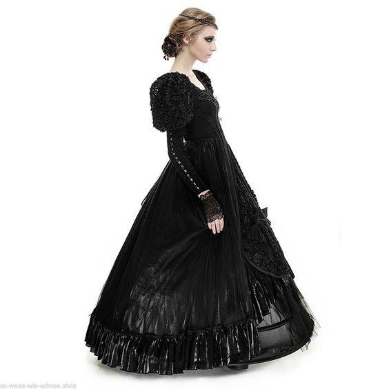 Punk Rave Gothic Hochzeit Abendkleid Victorian Samt Ball Kleid Prom Dress LQ071 in Kleidung & Accessoires, Damenmode, Kleider   eBay