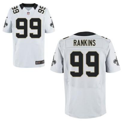 NFL Jerseys - NFL New Orleans Saints #99 Sheldon Rankins Nike White Elite jERSEY ...
