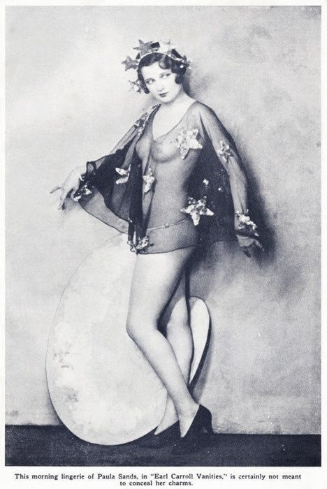 "Paula Sands 1930's in the ""Earl Carrolls Vanities"""