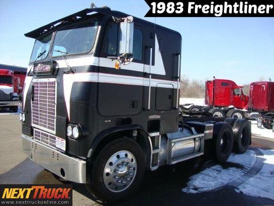 #ThrowbackThursday Check out this 1983 FREIGHTLINER Sleeper Truck. View more #SleeperTrucks at http://goo.gl/a4csU3 #Trucking #NextTruck #tbt