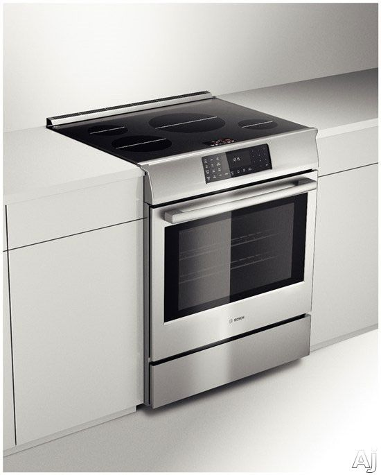 Induction Heating Oven ~ Bosch hiip u quot slide in induction range with heating