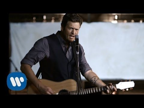 ▶ Blake Shelton - God Gave Me You (Official Video) - YouTube---this made me cry. Walk down the aisle