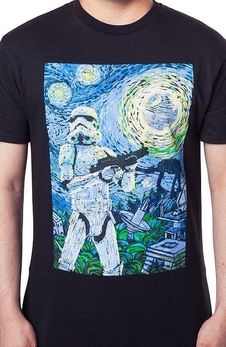 Star Wars Stormy Night T-Shirt