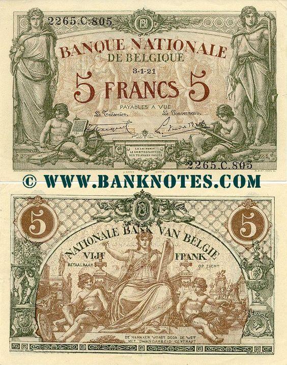 belgium money Belgium Money world currency Pinterest Belgium - note payables