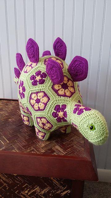 Ravelry: CindyEggleston's Stella the Stegosaurus:
