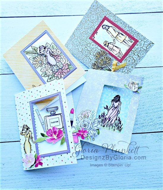 Rectangle Rocker Card With Video And Printable Tutorial Re Narrated To Improve Sound Designz By Gloria Card Tutorials Cards Stampin Up Cards