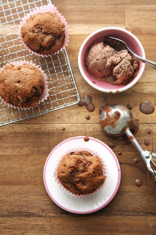 Chocolate Icecream Bread   Only 4 ingrediens | nur 4 Zutaten