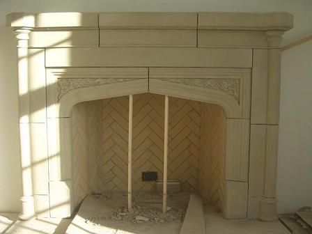 Tudor design and fireplaces on pinterest for Tudor style fireplace