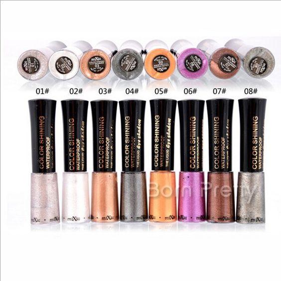 $3.15 1Pc Shining Shimmer Eyeshadow Gel Waterproof Eyeshadow Gel - BornPrettyStore.com