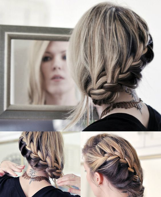 Updo, French and Tiaras on Pinterest