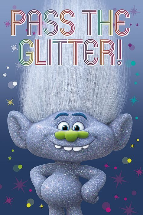 Trolls Diamond Guy Maxi Poster Wallpapers