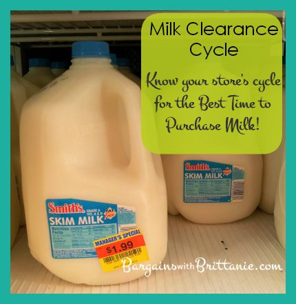 Milk Clearance Cycle! This is the Best Way to Save on Milk! Bargains with Brittanie