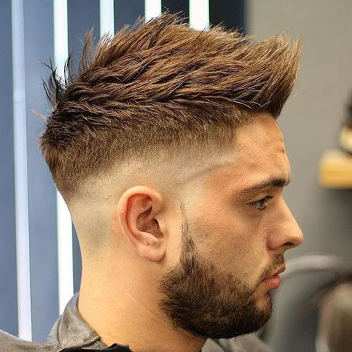 35 Best Faux Hawk Fohawk Haircuts For Men 2020 Styles Mens Haircuts Short Fohawk Haircut Fade Haircut