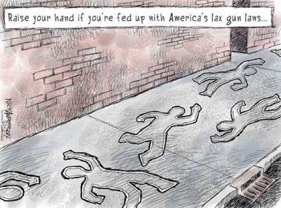 2013 Political Cartoons Gun Laws
