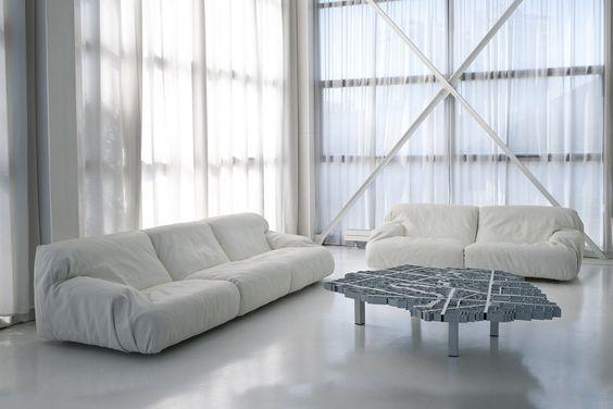 Edra, sillón modelo Brenno diseñado por Francesco Binfaré. Mobiliario de diseño para hogar, hoteles y contract. (Espacio Aretha agente exclusivo para España).