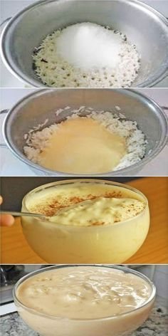 Arroz Doce Cremoso Food Yummy Food Recipes