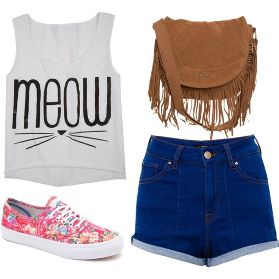 """""""meow"""" by victoria-publicover on Polyvore"""