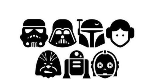 Car Tablet STAR WARS The Force Awakens Sticker // Decal Choose Size /& Color