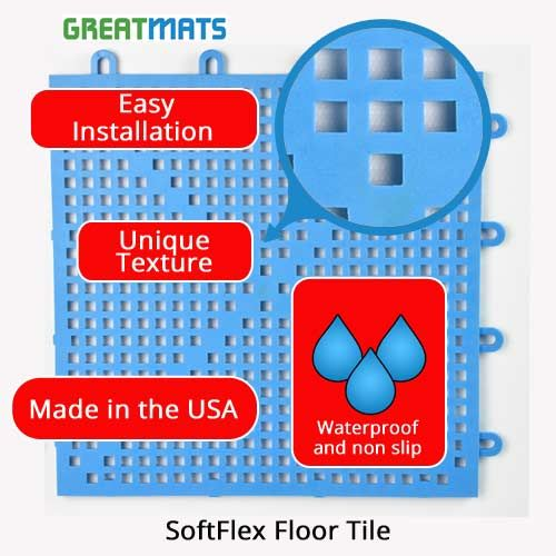 Softflex Soft Plastic Wet Area Floor Tile Pools Showers Spas Pool Deck Tile Wet Area Flooring Tile Floor
