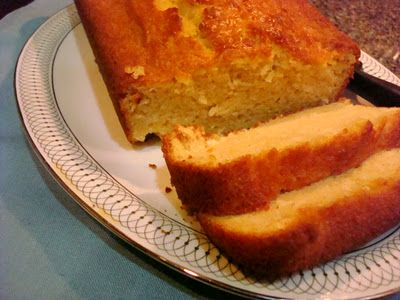 Maple Yogurt Pound Cake