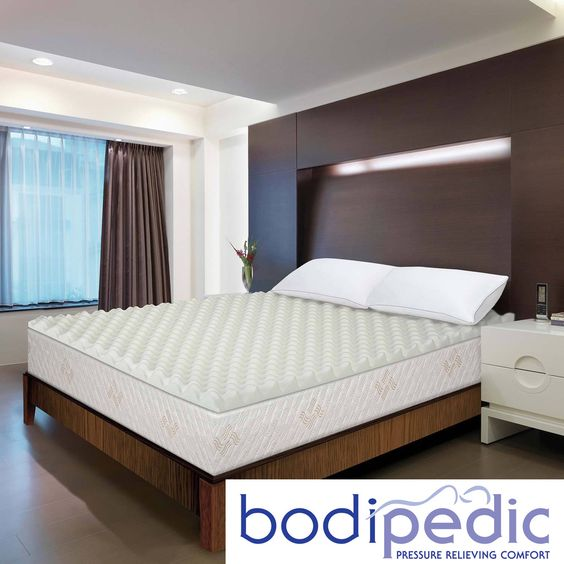 Bodipedic Essentials 3 Inch Memory Foam Wave Mattress